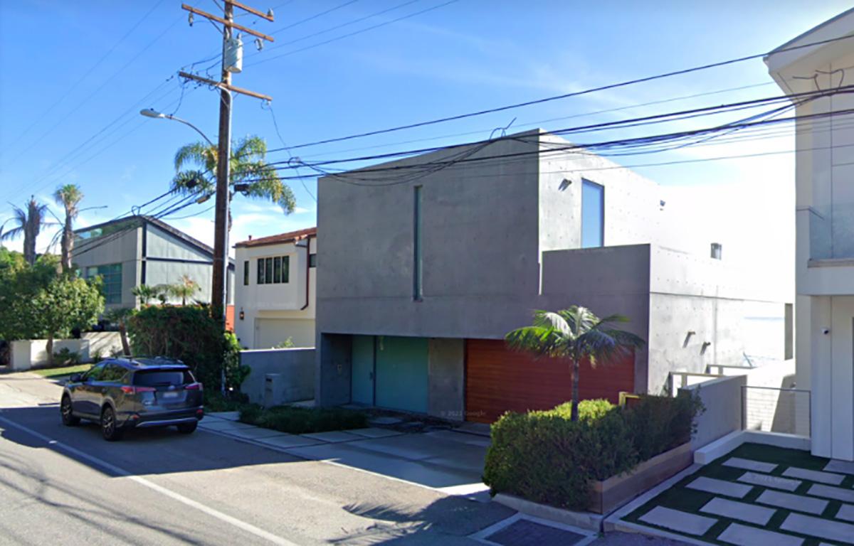 Google street view of Kanye Malibu house