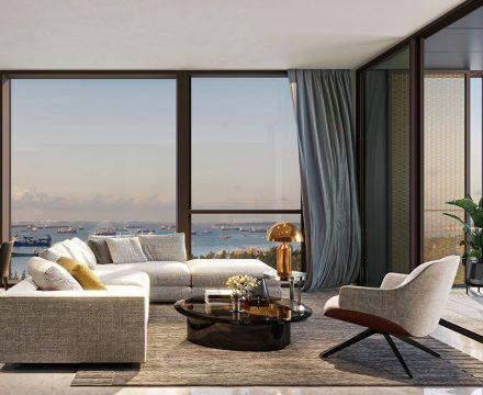 Meyer Mansion 3BR living room