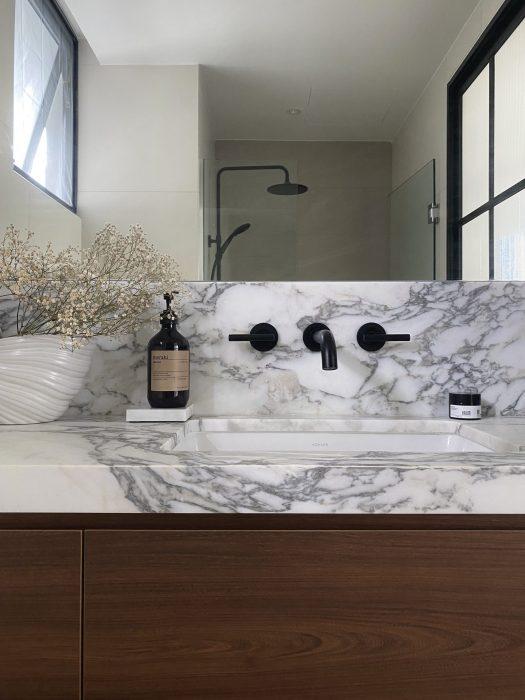La Fiesta - master bathroom design after reno